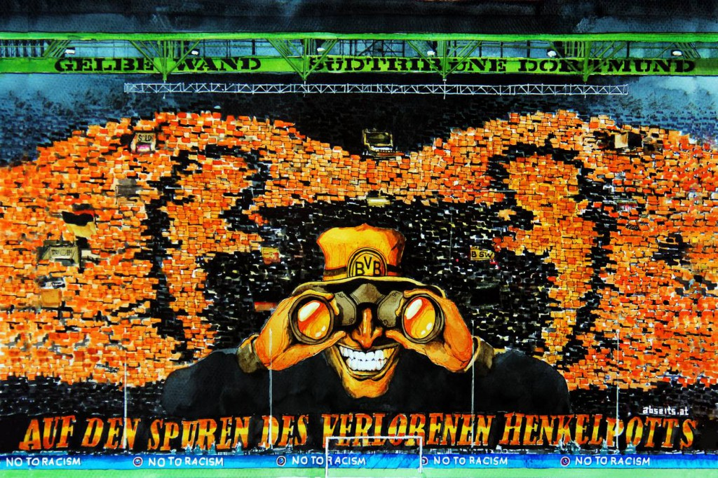_Gelbe Wand Dortmund